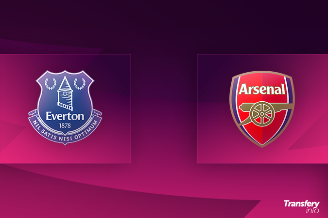 Premier League: Składy na Everton - Arsenal | Transfery.info