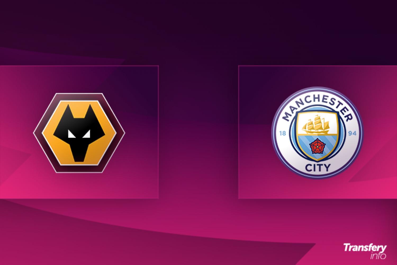 Premier League: Składy na Wolverhampton Wanderers - Manchester City | Transfery.info